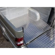 Защитный алюминиевый вкладыш в кузов автомобиля (дно) код UAZPIC2016-33