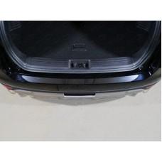 Накладка на задний бампер (лист зеркальный) код GEELEATL18-10