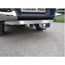 Фаркоп (надпись Mercedes-Benz, оцинкованный, шар Е нерж.) код TCU00125N