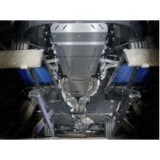 Комплект алюминиевых защит (картера, КПП, бака) ZKTCC00400K